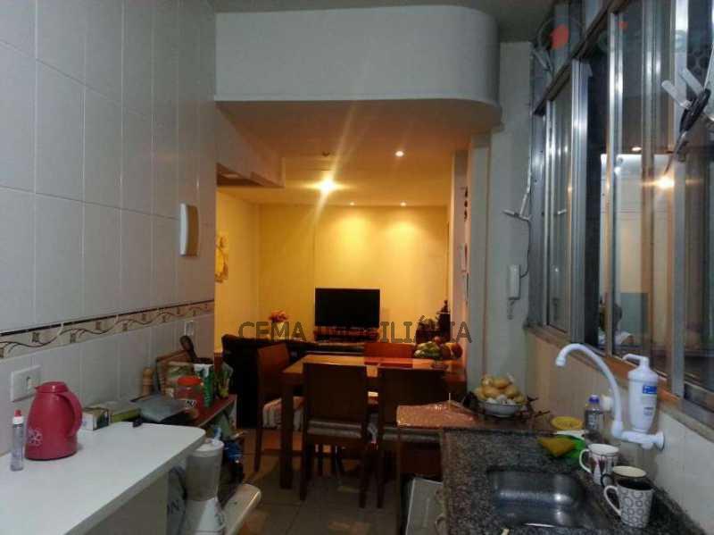 cozinha e sala - Apartamento À Venda - Botafogo - Rio de Janeiro - RJ - LAAP30912 - 1
