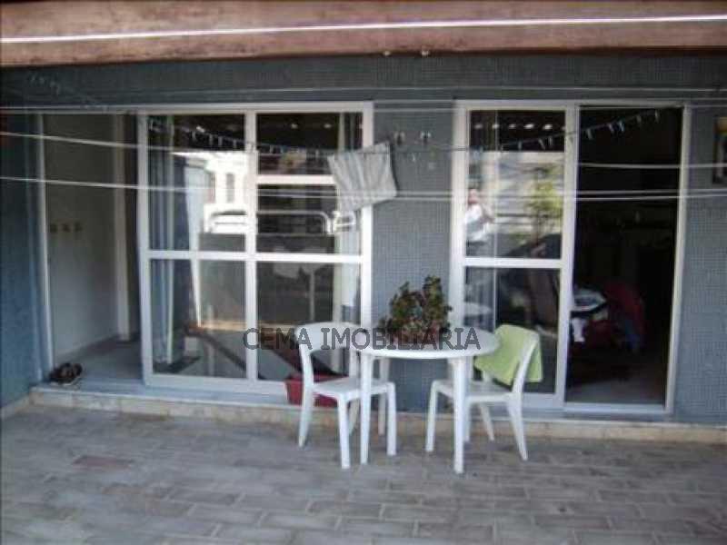 terraço - Cobertura 3 quartos à venda Botafogo, Zona Sul RJ - R$ 1.650.000 - LACO30069 - 3