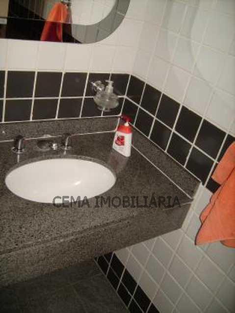 banheiro suíte 2 - Cobertura 3 quartos à venda Botafogo, Zona Sul RJ - R$ 1.650.000 - LACO30069 - 19