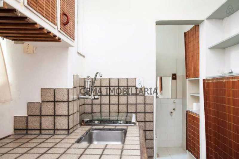 COZINHA PLANEJADA - Kitnet/Conjugado 25m² à venda Leblon, Zona Sul RJ - R$ 520.000 - LAKI00416 - 4