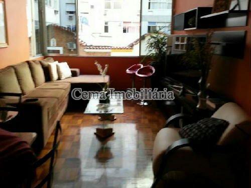SALA - Apartamento À Venda - Copacabana - Rio de Janeiro - RJ - LA33403 - 3