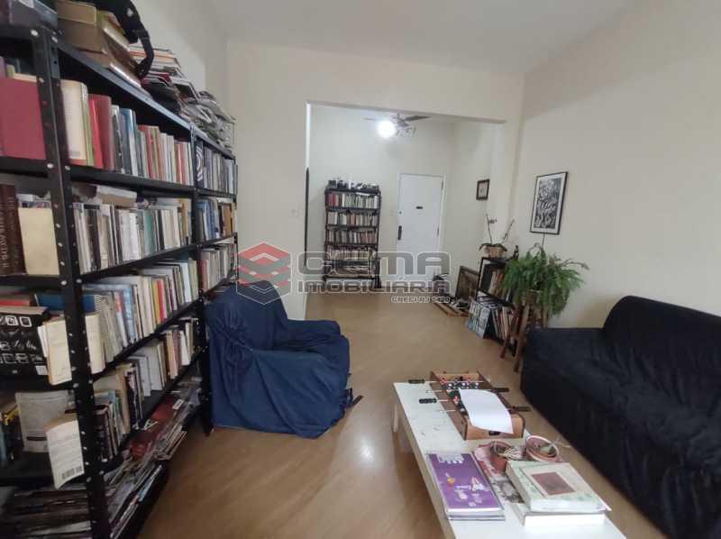 SALA - Apartamento 3 quartos (com suite), Humaitá, Localização privilegiada, a 2 minutos da Lagoa, Jardim Botânico e Parque Laje. - LA33414 - 5