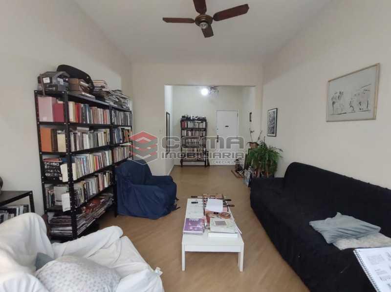 SALA - Apartamento 3 quartos (com suite), Humaitá, Localização privilegiada, a 2 minutos da Lagoa, Jardim Botânico e Parque Laje. - LA33414 - 1
