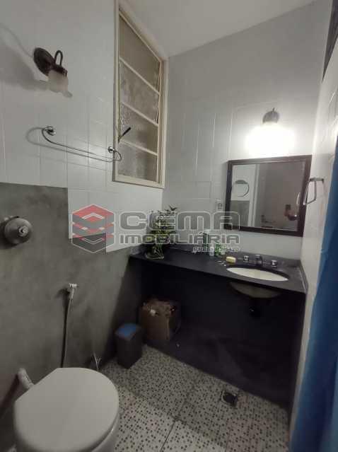 BANHEIRO SUITE - Apartamento 3 quartos (com suite), Humaitá, Localização privilegiada, a 2 minutos da Lagoa, Jardim Botânico e Parque Laje. - LA33414 - 9