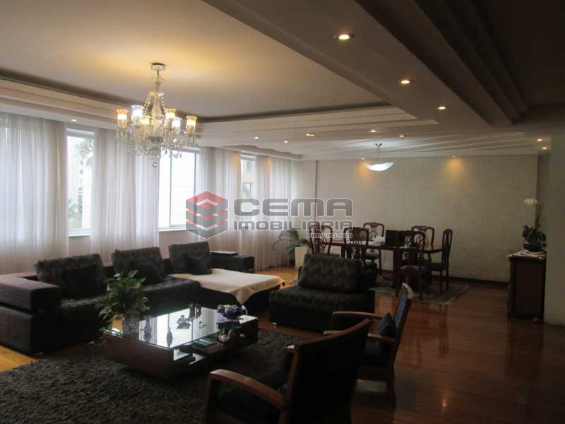 sala - Apartamento À Venda Rua Paissandu,Flamengo, Zona Sul RJ - R$ 2.500.000 - LAAP40181 - 5