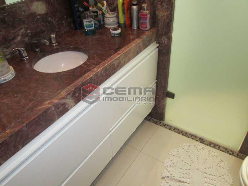 suíte quarto 1 - Apartamento À Venda Rua Paissandu,Flamengo, Zona Sul RJ - R$ 2.500.000 - LAAP40181 - 9