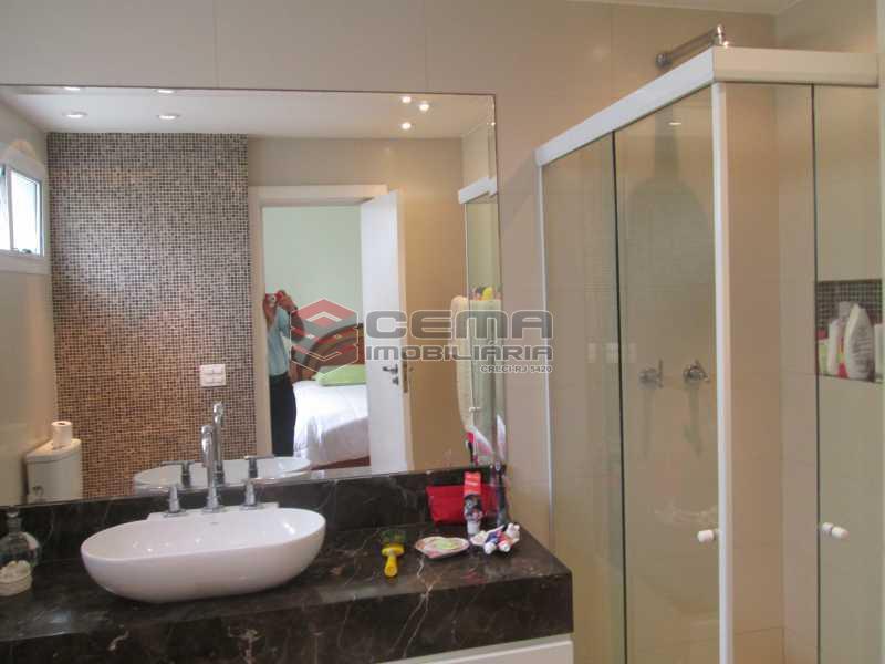 suíte quarto 4 - Apartamento À Venda Rua Paissandu,Flamengo, Zona Sul RJ - R$ 2.500.000 - LAAP40181 - 19