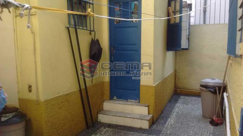 parte de trás - Casa 7 quartos à venda Flamengo, Zona Sul RJ - R$ 2.550.000 - LACA70008 - 13