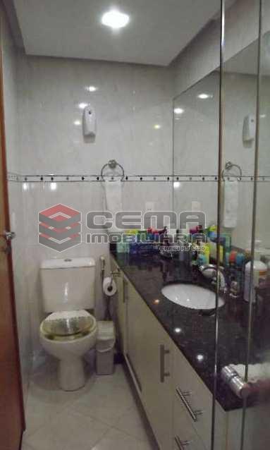 banheiro - Cobertura à venda Rua Arnaldo Quintela,Botafogo, Zona Sul RJ - R$ 2.098.000 - LACO40041 - 12