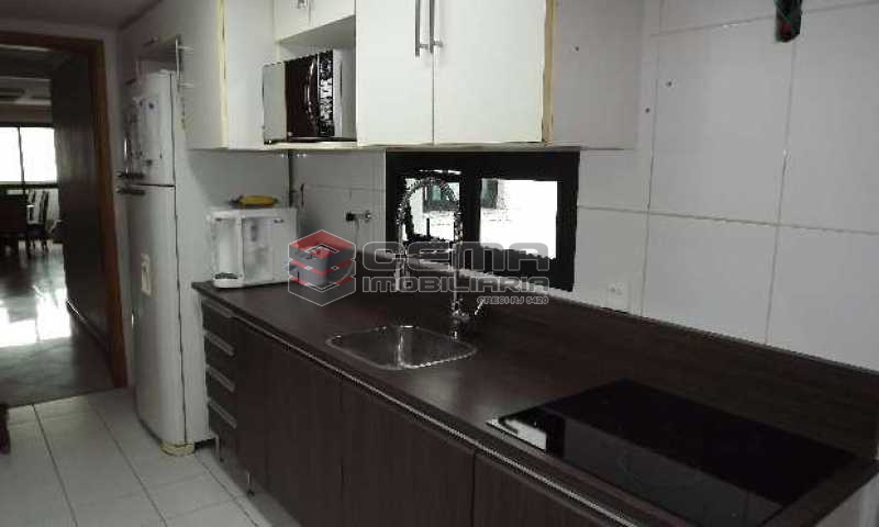 cozinha - Cobertura à venda Rua Arnaldo Quintela,Botafogo, Zona Sul RJ - R$ 2.098.000 - LACO40041 - 14