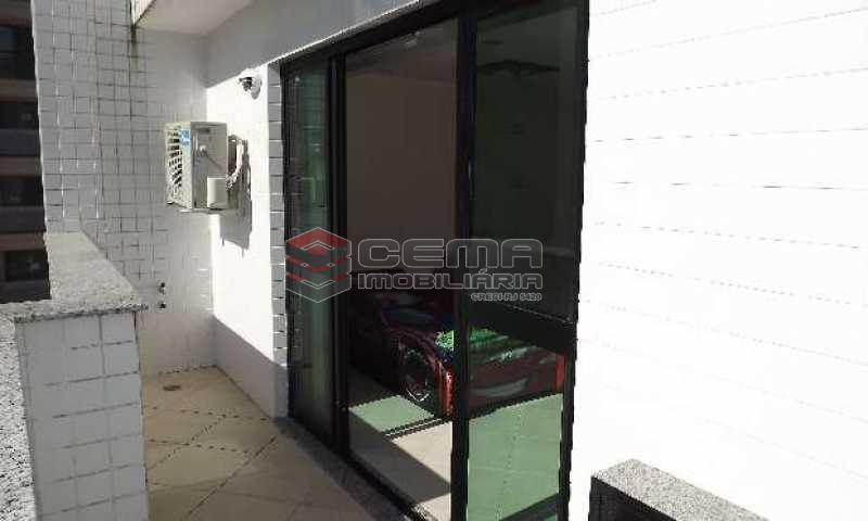 terraço - Cobertura à venda Rua Arnaldo Quintela,Botafogo, Zona Sul RJ - R$ 2.098.000 - LACO40041 - 17