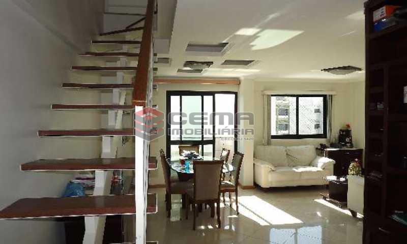 sala - Cobertura à venda Rua Arnaldo Quintela,Botafogo, Zona Sul RJ - R$ 2.098.000 - LACO40041 - 3