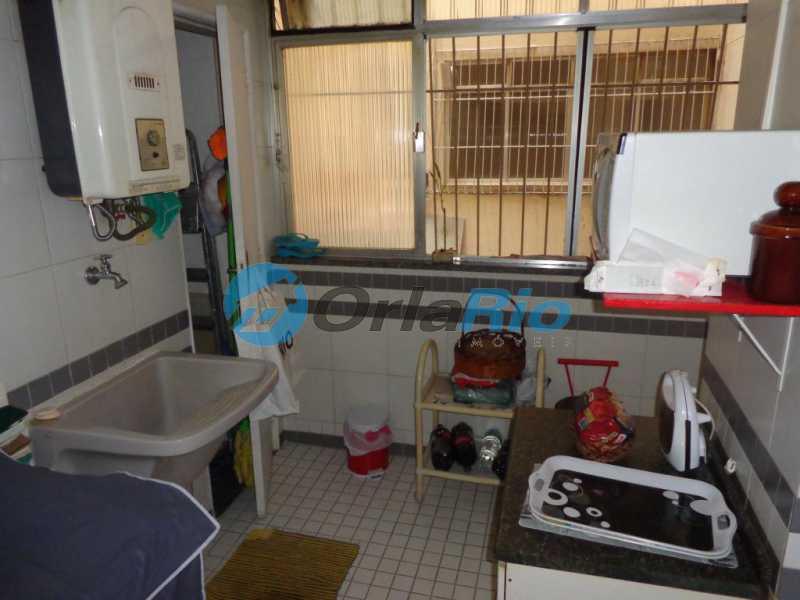 20 area de serviço - Apartamento À Venda - Leme - Rio de Janeiro - RJ - VEAP20476 - 21