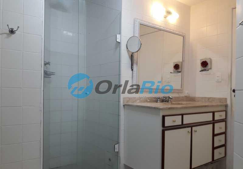 13- Banheiro Suíte - Apartamento À Venda - Copacabana - Rio de Janeiro - RJ - VEAP30583 - 14