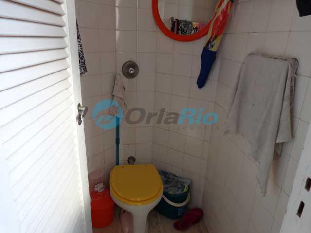 BANHEIRO EMPREGADA - Apartamento À Venda - Leme - Rio de Janeiro - RJ - VEAP20025 - 23