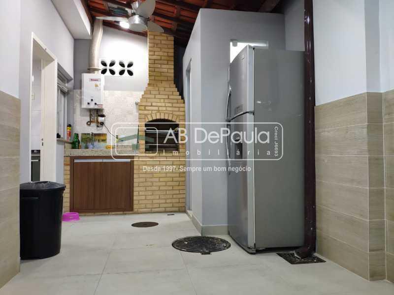 ÁREA CHURRASQUEIRA - Casa à venda Rua Aladim,Rio de Janeiro,RJ - R$ 515.000 - ABCA40023 - 6