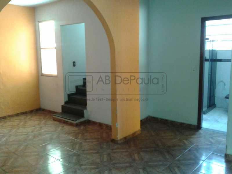 4 - REALENGO - São Duas Casas no mesmo Terreno. Casa frente Duplex com Garagem Coberta - ABCA30086 - 5