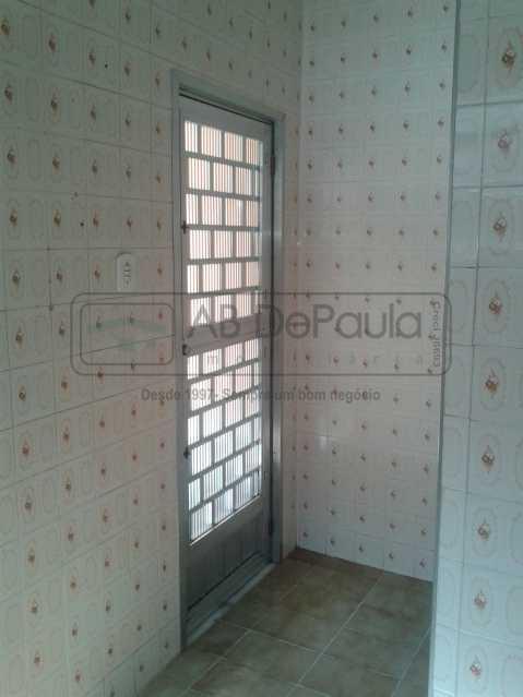 12 - REALENGO - São Duas Casas no mesmo Terreno. Casa frente Duplex com Garagem Coberta - ABCA30086 - 13