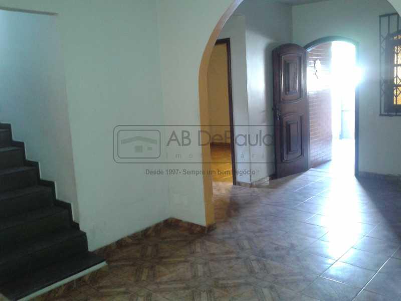 8 - REALENGO - São Duas Casas no mesmo Terreno. Casa frente Duplex com Garagem Coberta - ABCA30086 - 9
