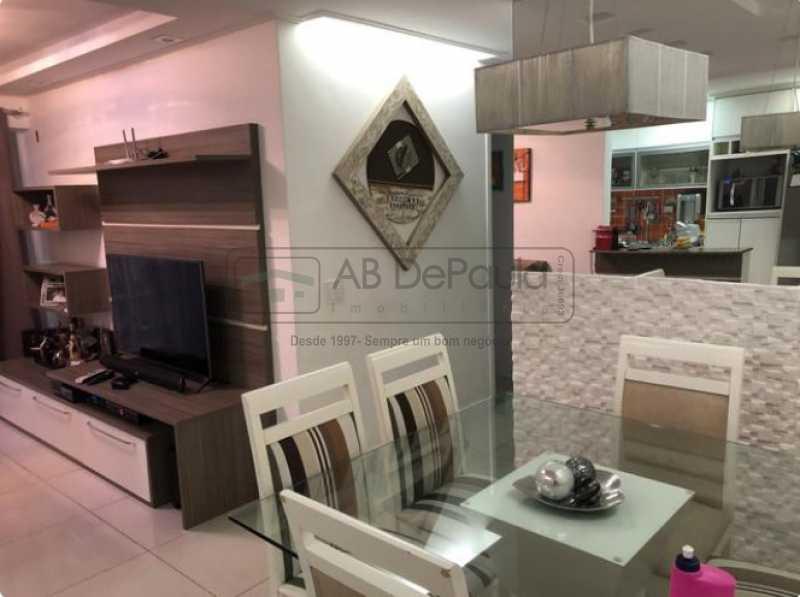 Sala - Lindo Apartamento Decorado Repleto Móveis Planejados - ABAP20334 - 5