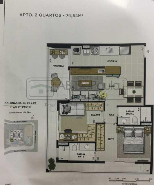 Novo Documento 2019-03-15 11.4 - Apartamento Rio de Janeiro, Recreio dos Bandeirantes, RJ À Venda, 3 Quartos, 75m² - ABAP30084 - 7