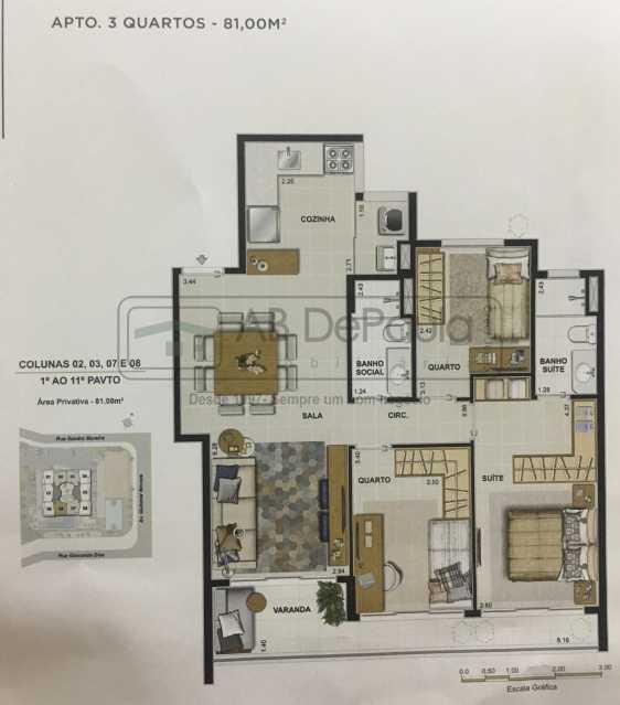 Novo Documento 2019-03-15 11.4 - Apartamento Rio de Janeiro, Recreio dos Bandeirantes, RJ À Venda, 3 Quartos, 75m² - ABAP30084 - 9
