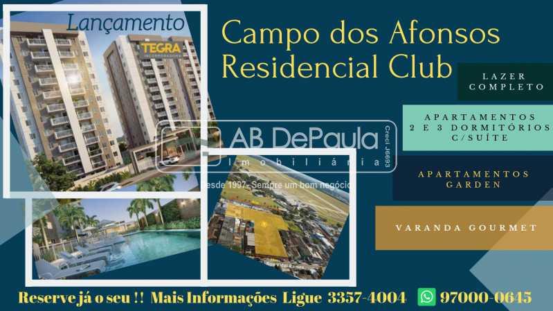 Lançamento Campo dos Afonsos  - Condomínio Campo dos Afonsos Residencial Club - ABAP20405 - 4