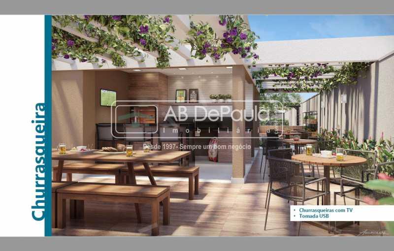 Área Churrasqueira - Condomínio Campo dos Afonsos Residencial Club - ABAP20405 - 6
