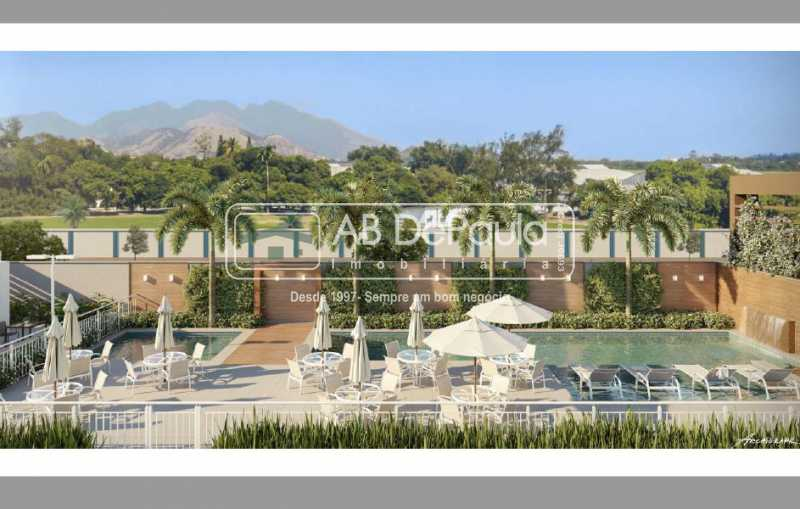 Área Poscinas - Condomínio Campo dos Afonsos Residencial Club - ABAP20405 - 5