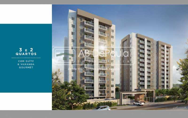 Fachada Blocos - Condomínio Campo dos Afonsos Residencial Club - ABAP20405 - 1