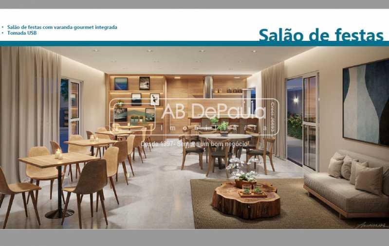 Salão de Festas - Condomínio Campo dos Afonsos Residencial Club - ABAP20405 - 14