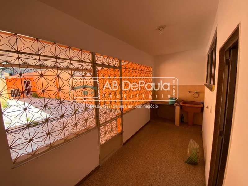 ÁREA DE SERVIÇO - Realengo - Excelente casa 3 Dormitórios (1 Suíte), amplo quinta. - ABCA30108 - 11