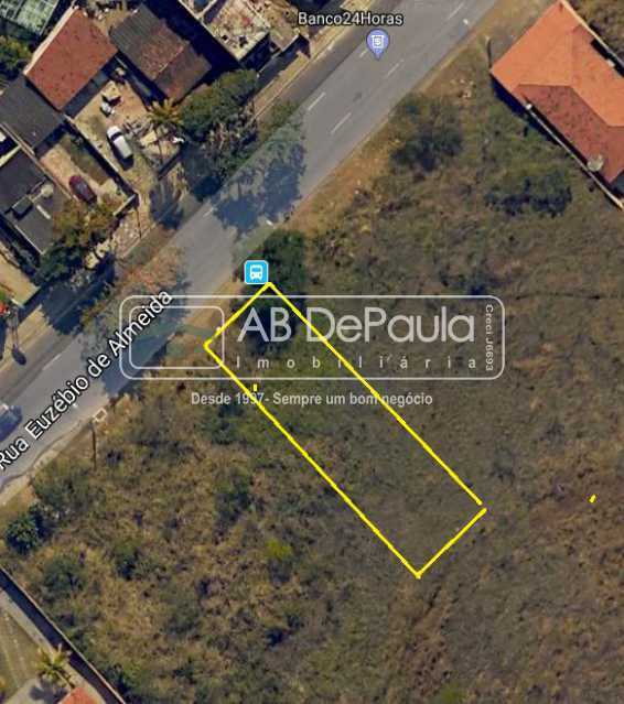 Terr 3 - Terreno 500,00 m² em Via Principal - ABBF00001 - 1