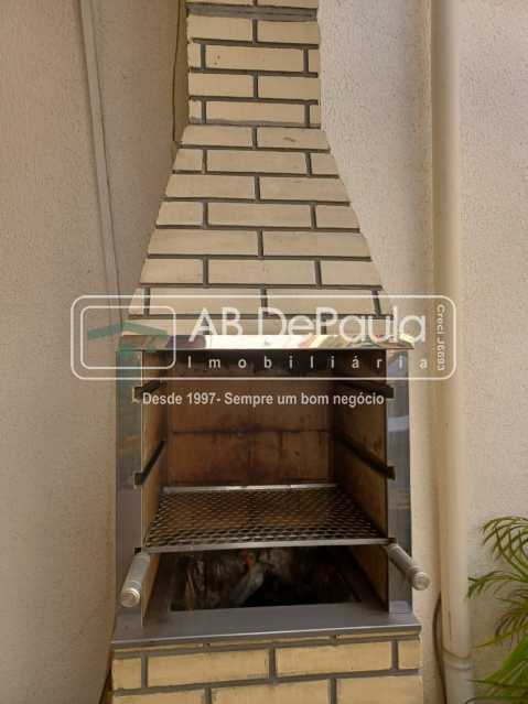 Churrasqueira - MARECHAL HERMES - Excelente Casa Duplex em Vila Fechada somente 8 Casas - ABCA20114 - 25