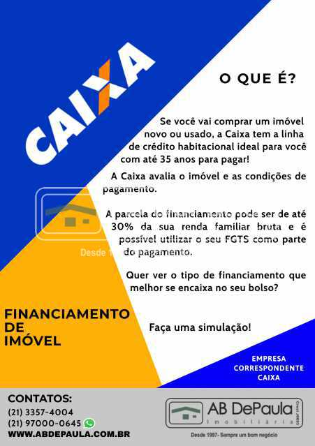 FINANCIAMENTO CAIXA jpeg - PARA VENDER OU ALUGAR - VILA VALQUEIRE - ABAP20574 - 20