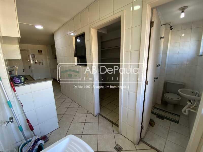 ÁREA DE SERVIÇO - VILA VALQUEIRE - Excelente Apartamento com 86m², JUNTINHO A PRAÇA SAIQUI - ABAP20597 - 18