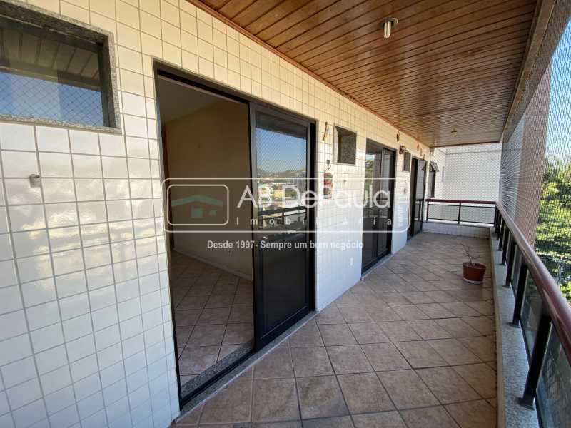 VARANDA - VILA VALQUEIRE - Excelente Apartamento com 86m², JUNTINHO A PRAÇA SAIQUI - ABAP20597 - 6