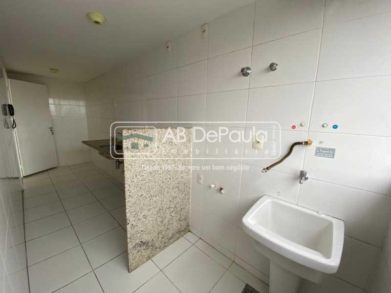 ÁREA DE SERVIÇO - VILA VALQUEIRE - Linda Cobertura Duplex. Composta de 3 Quartos, sendo 2 suítes - ABCO30001 - 11