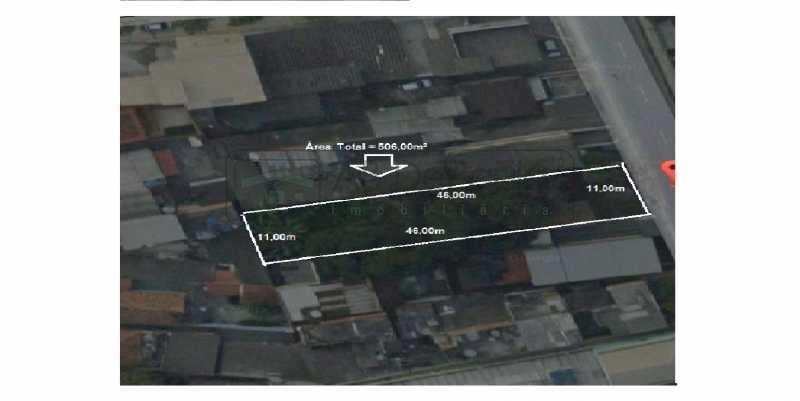 2222 - Terreno 506m² à venda Rio de Janeiro,RJ - R$ 320.000 - ABUF00005 - 1