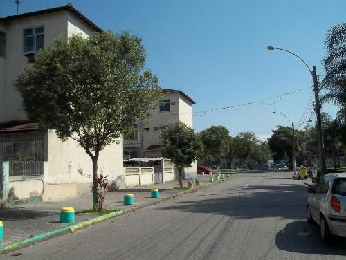 VISTA DA RUA - MARECHAL HERMES - Excelente apartamento, juntinho a Praça de Marechal Hermes (HOSPITAL CARLOS CHAGAS) - SA20331 - 25