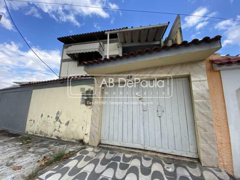 FACHADA - Casa 2 quartos para alugar Rio de Janeiro,RJ - R$ 1.500 - ABCA20048 - 1