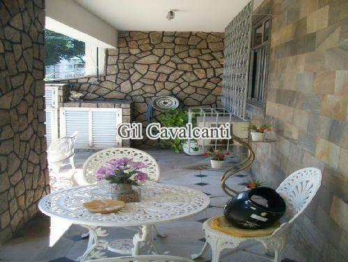 VARANDA - Casa 4 quartos à venda Vila Valqueire, Rio de Janeiro - R$ 1.250.000 - CSV0189 - 6