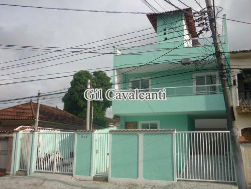 FACHADA - Casa 2 quartos à venda Vila Valqueire, Rio de Janeiro - R$ 450.000 - CSV0209.2 - 4