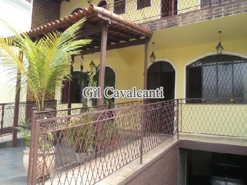 FACHADA. - Casa Rua Potirendaba,Vila Valqueire,Rio de Janeiro,RJ À Venda,8 Quartos,420m² - CSV0237 - 4