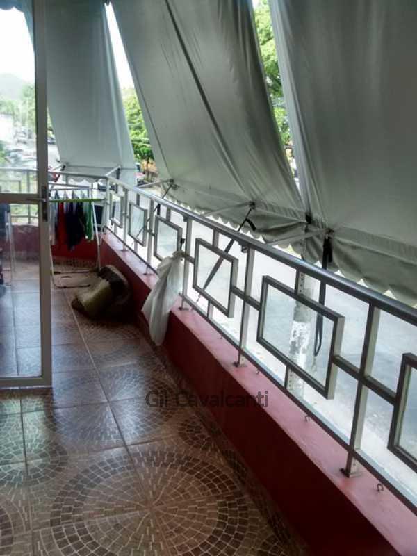 Varanda - Apartamento 3 quartos à venda Vila Valqueire, Rio de Janeiro - R$ 440.000 - AP0936 - 10
