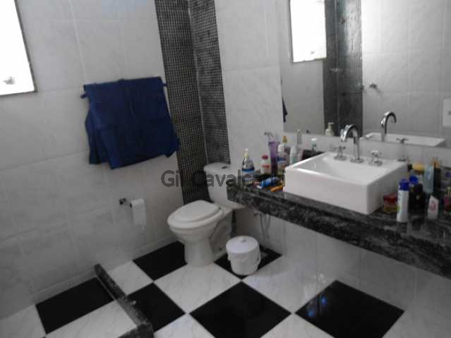 Banheiro suíte - Casa em Condomínio 3 quartos à venda Jacarepaguá, Rio de Janeiro - R$ 530.000 - CS1461 - 11