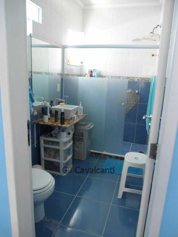 Banheiro suíte - Casa em Condomínio 3 quartos à venda Jacarepaguá, Rio de Janeiro - R$ 530.000 - CS1461 - 14