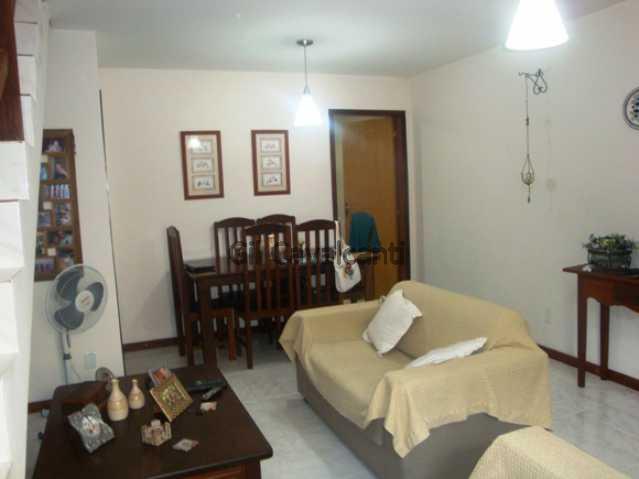 Sala - Casa em Condomínio 2 quartos à venda Curicica, Rio de Janeiro - R$ 330.000 - CS0741 - 3