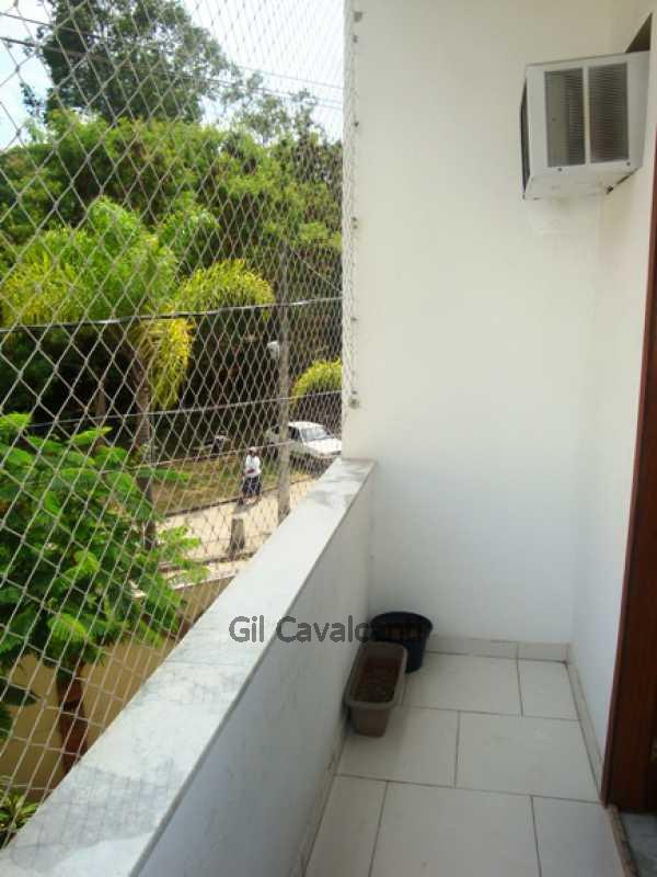 Varanda - Casa em Condomínio 2 quartos à venda Curicica, Rio de Janeiro - R$ 330.000 - CS0741 - 13