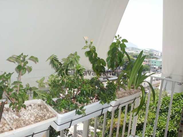 Varanda - Apartamento Taquara,Rio de Janeiro,RJ À Venda,2 Quartos,86m² - AP0954 - 3